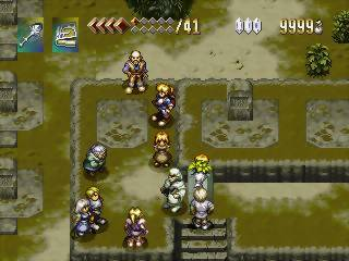 alundra ps1 gameplay in town screenshot