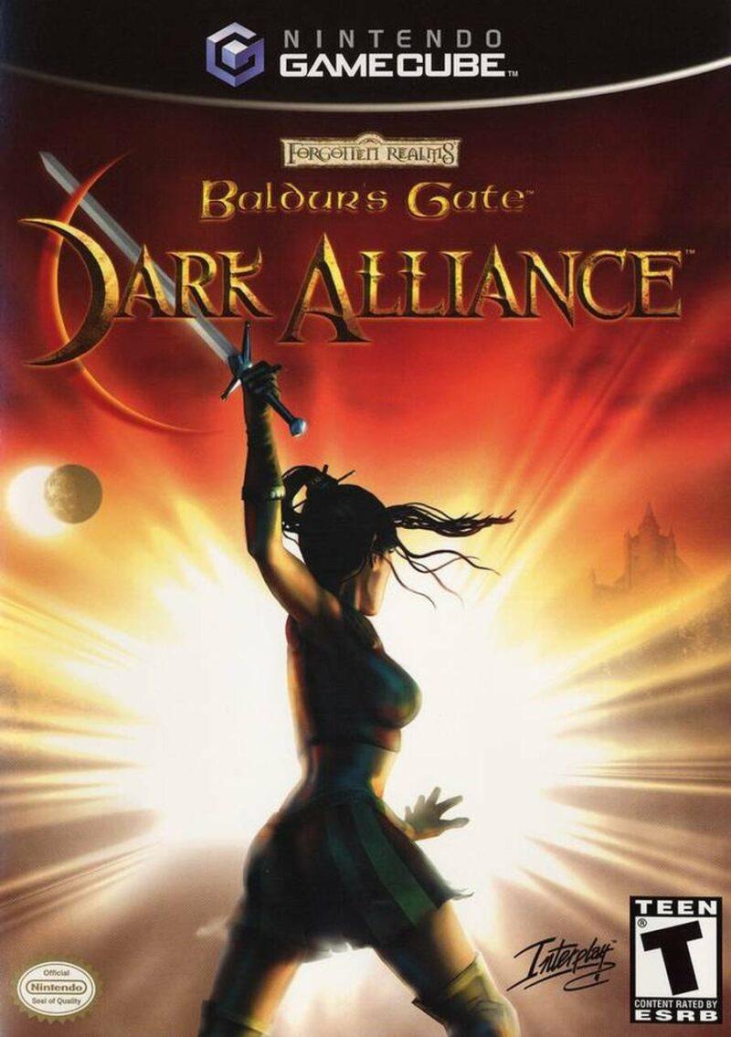 Baldur's Gate Dark Alliance Box Art