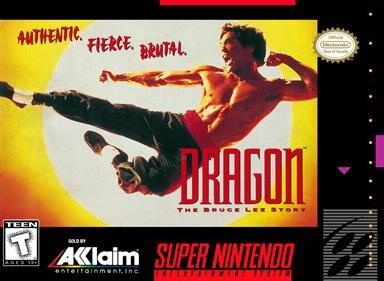 Dragon The Bruce Lee Story Box Art