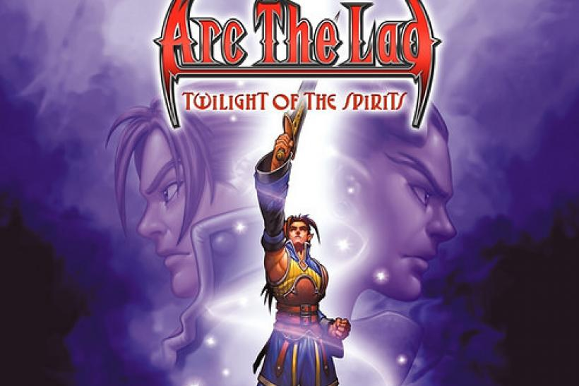 arc the lad twilight spirits cover art