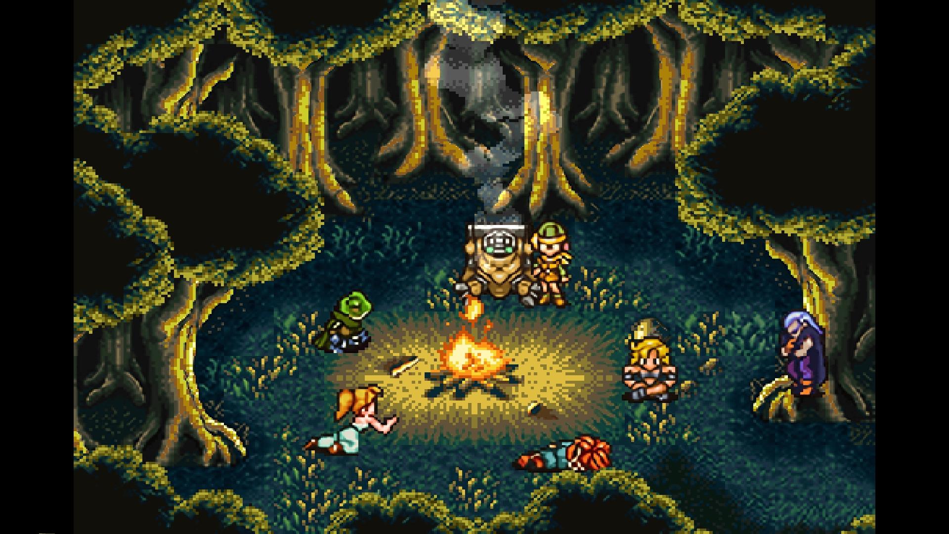 Chrono Trigger fire JRPG PlayStation