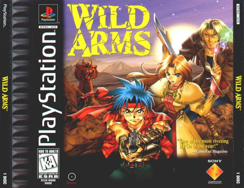wild arms jewelcase