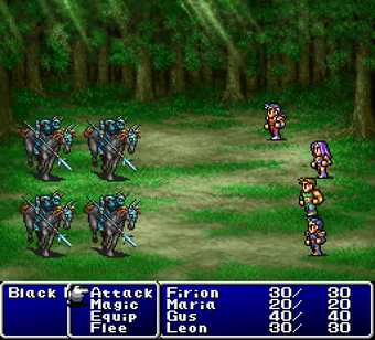 Final Fantasy Origins Screenshot