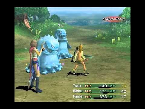 Final Fantasy X-2 Screenshot