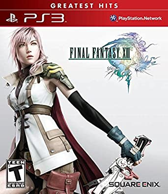 Final Fantasy XIII Box Art