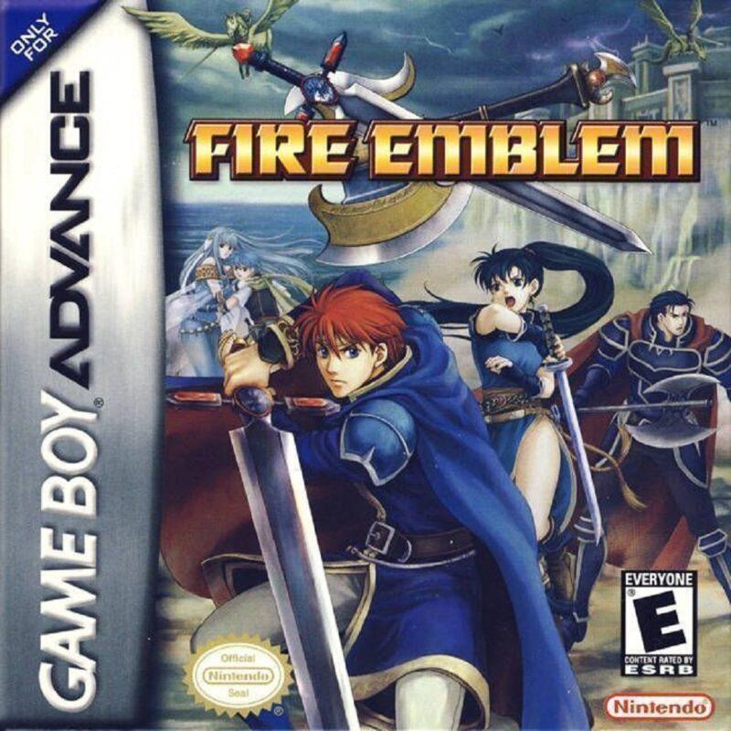 Fire Emblem GBA Box Art
