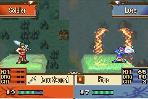 Fire Emblem GBA Screenshot
