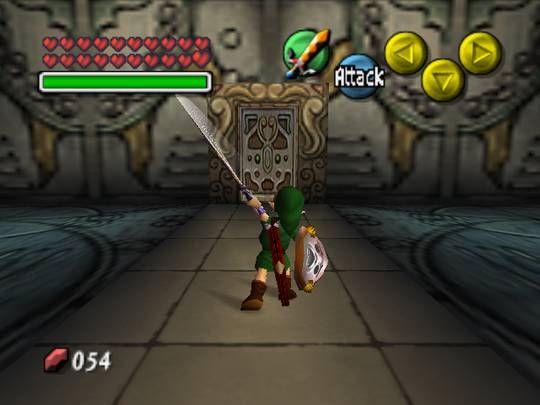 Legend of Zelda Majoras Mask Screenshot
