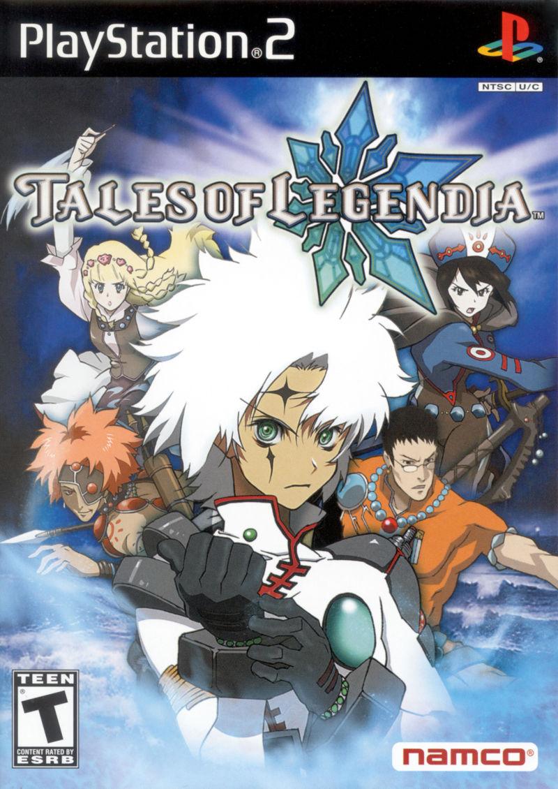 Tales of Legendia Box Art