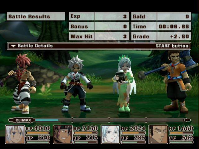 Tales of Legendia Screenshot