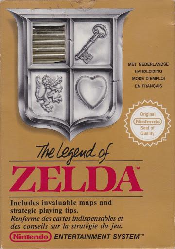 The Legend of Zelda Box Art