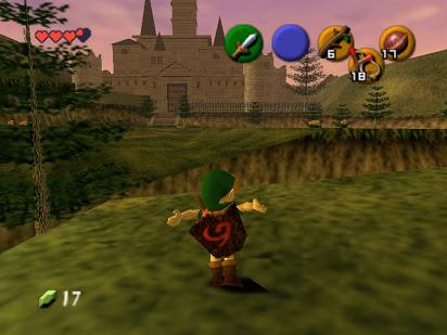 The Legend of Zelda Ocarina of Time Screenshot
