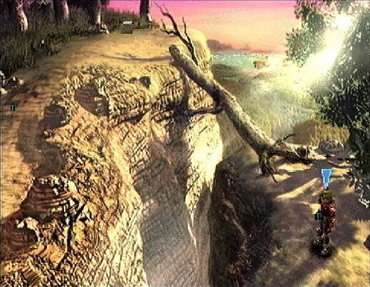 legend of dragoon world screenshot