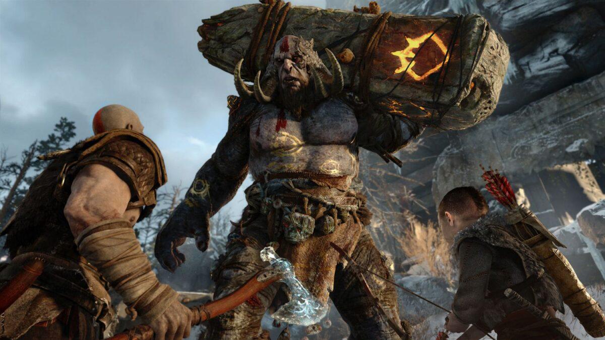 God of War Screenshot on PS4