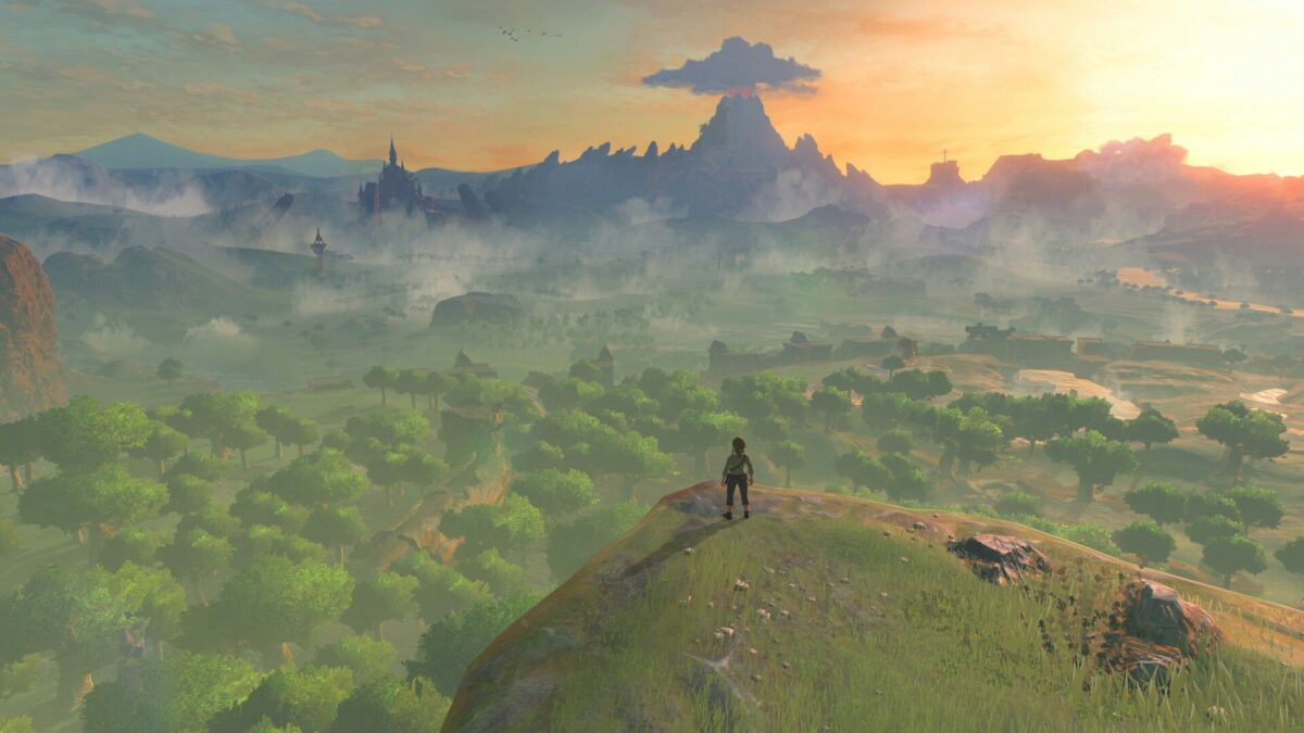 screenshot of legend of zelda breath of the wild