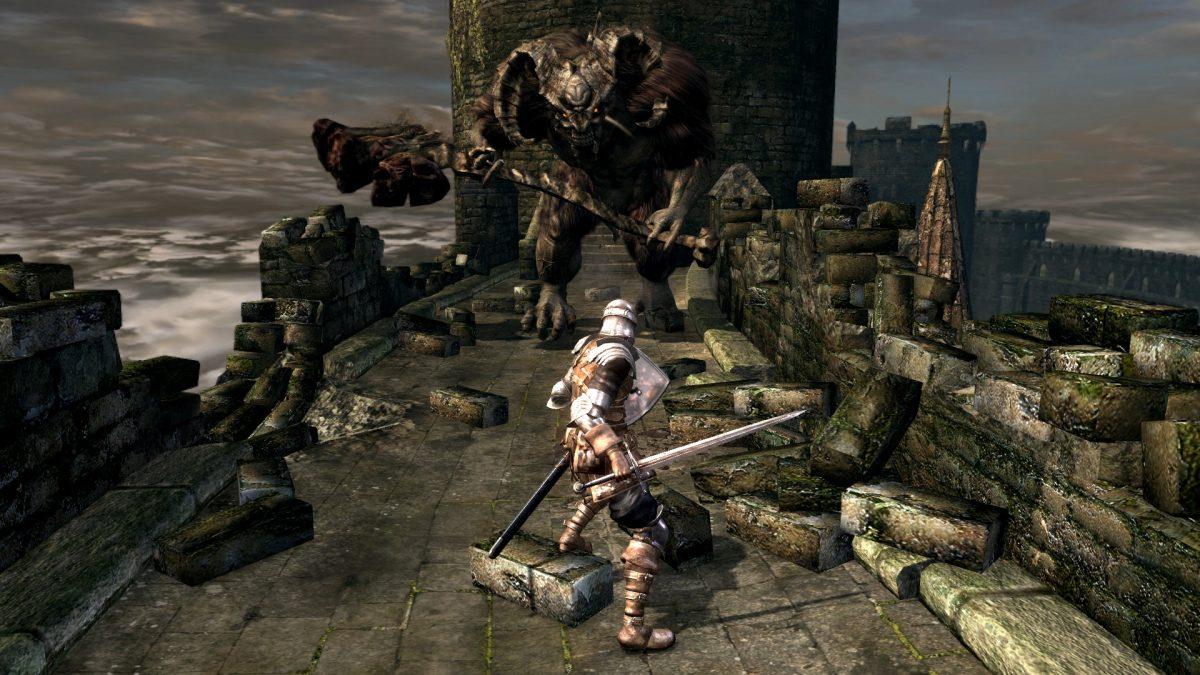 dark souls remastered gameplay on nintendo switch