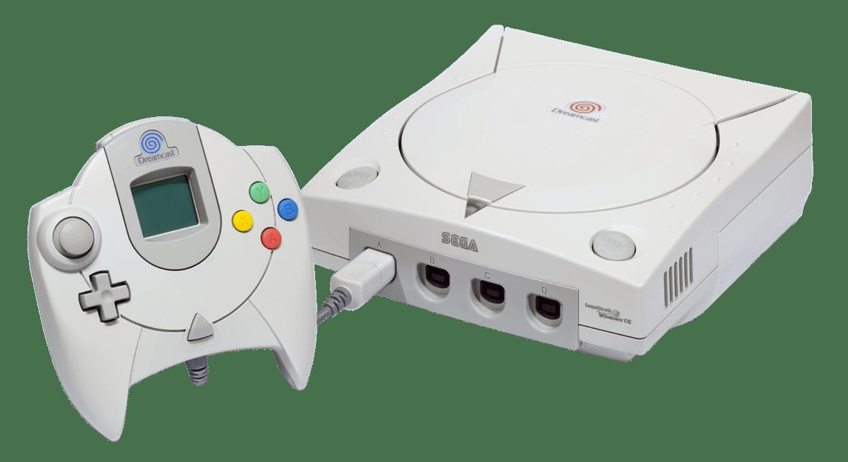 sega dreamcast console entertainment system