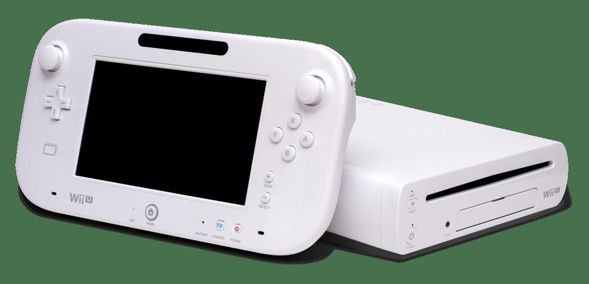 wii u console with gamepad