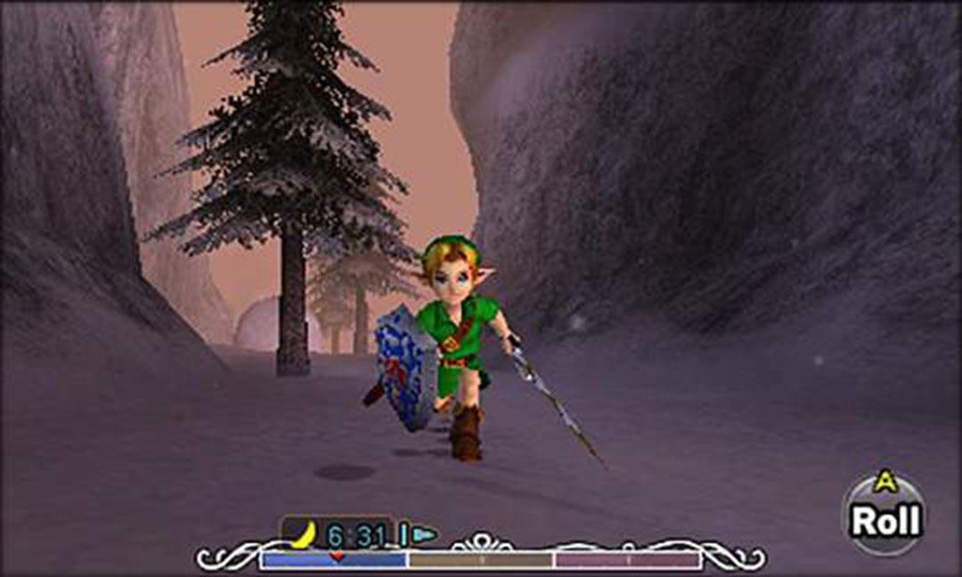 link in majora's mask nintendo 3ds