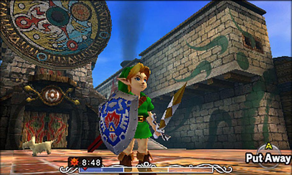 The Legend of Zelda Majora's Mask 3DS