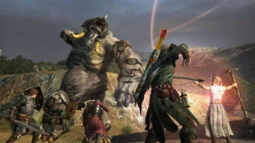 dragon's dogma gameplay on nintendo switch