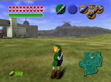ocarina of time screenshot