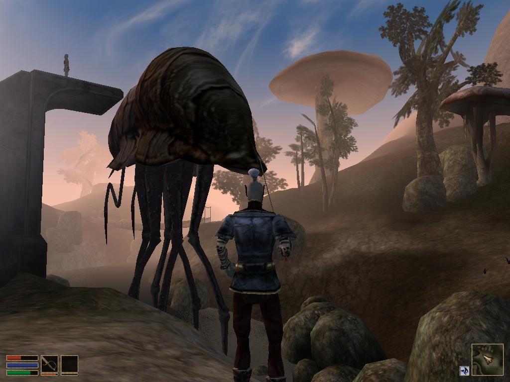 elder scrolls morrowind screenshot