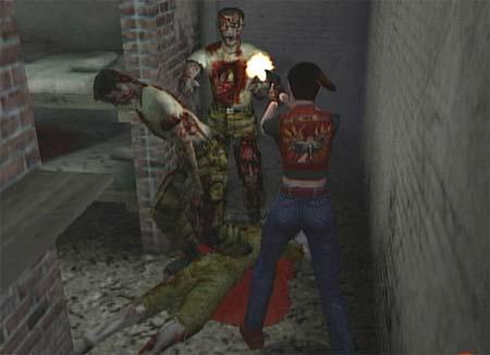 resident evil code veronica screenshot