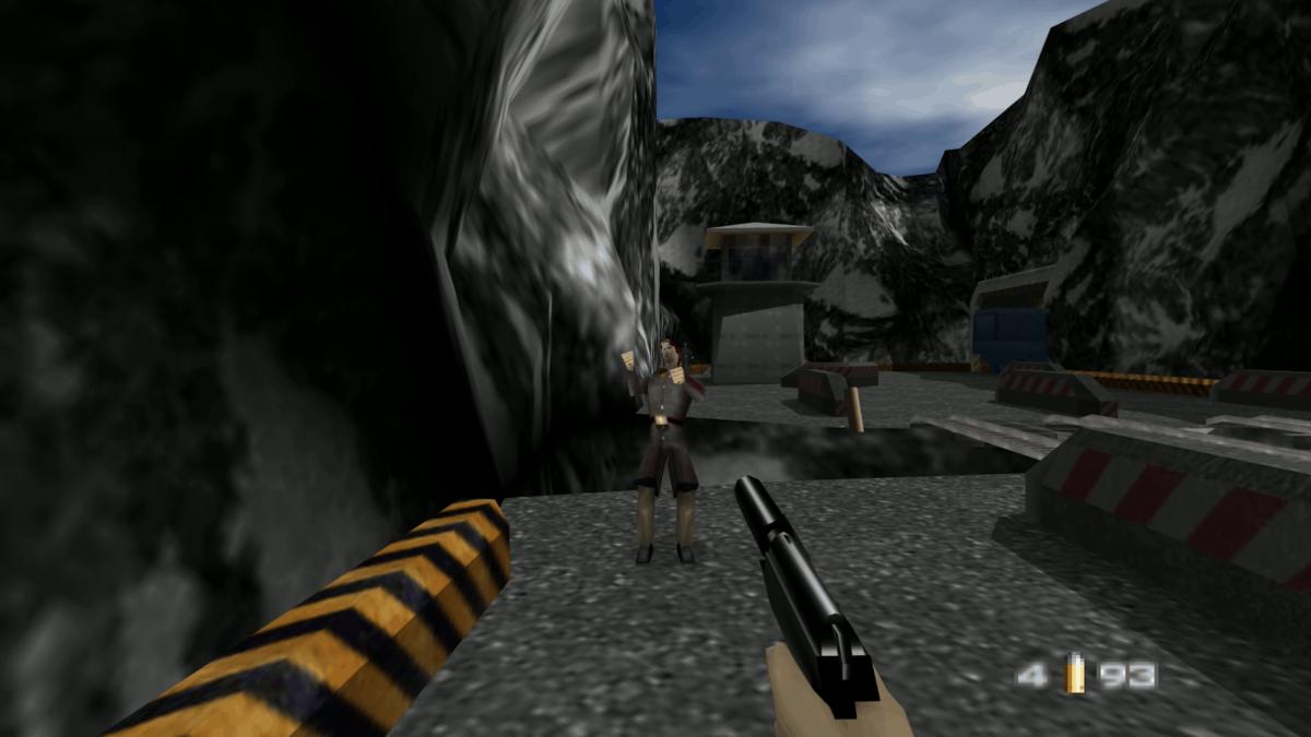 golden eye screenshot
