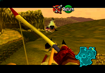 Link Using Bow In First Person