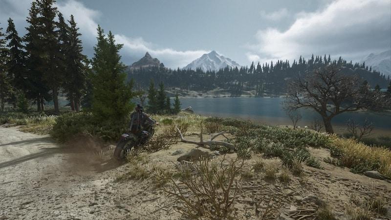 days gone screenshot horizon mountains forest
