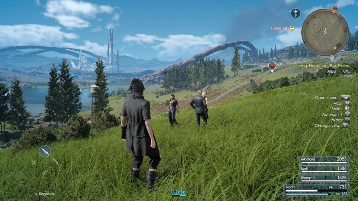 final fantasy 15 screenshot