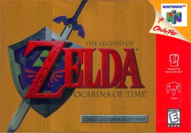 Collectors Edition Ocarina of Time