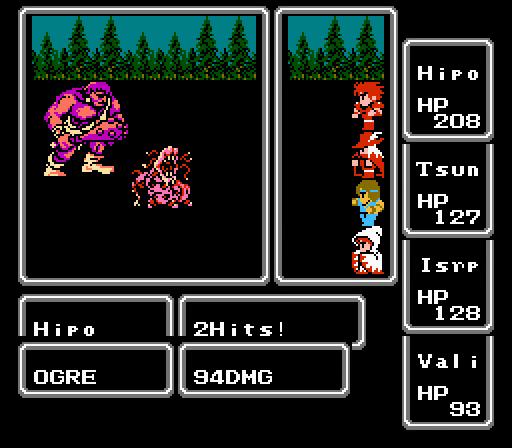 final fantasy 1 screenshot