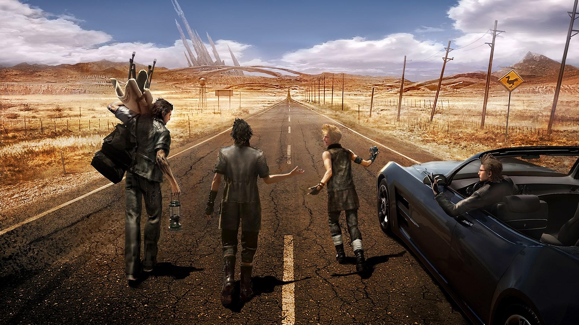 Final Fantasy XV bros