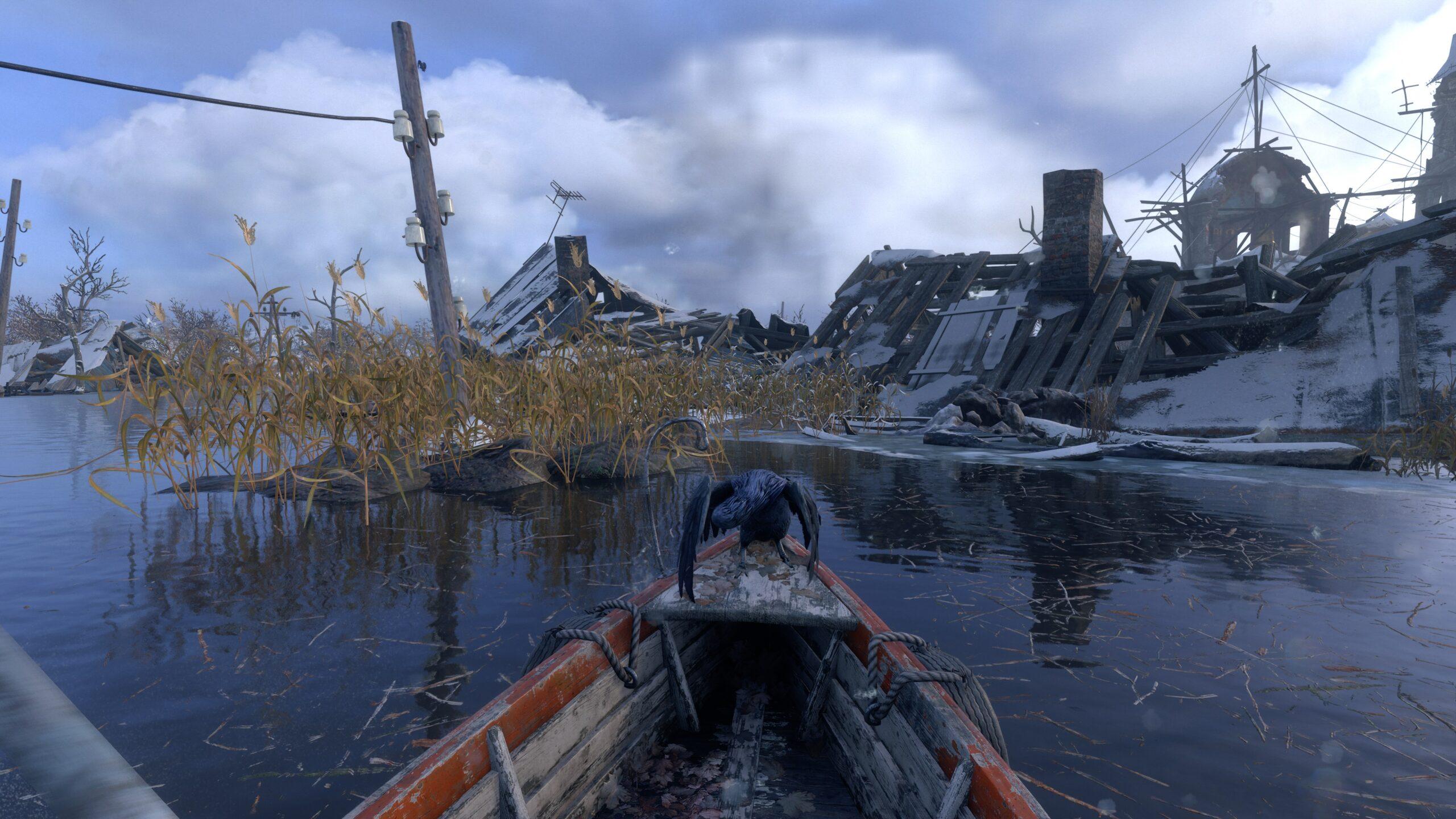 boat Metro exodus