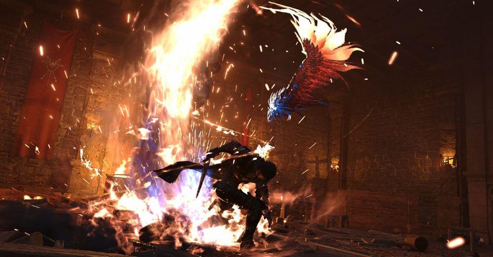 final fantasy protagonist battles