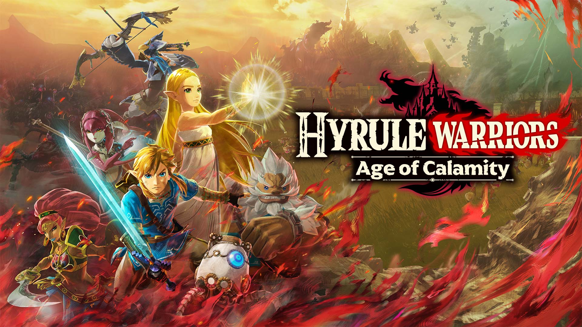 hyrule warriors age of calamity artwork