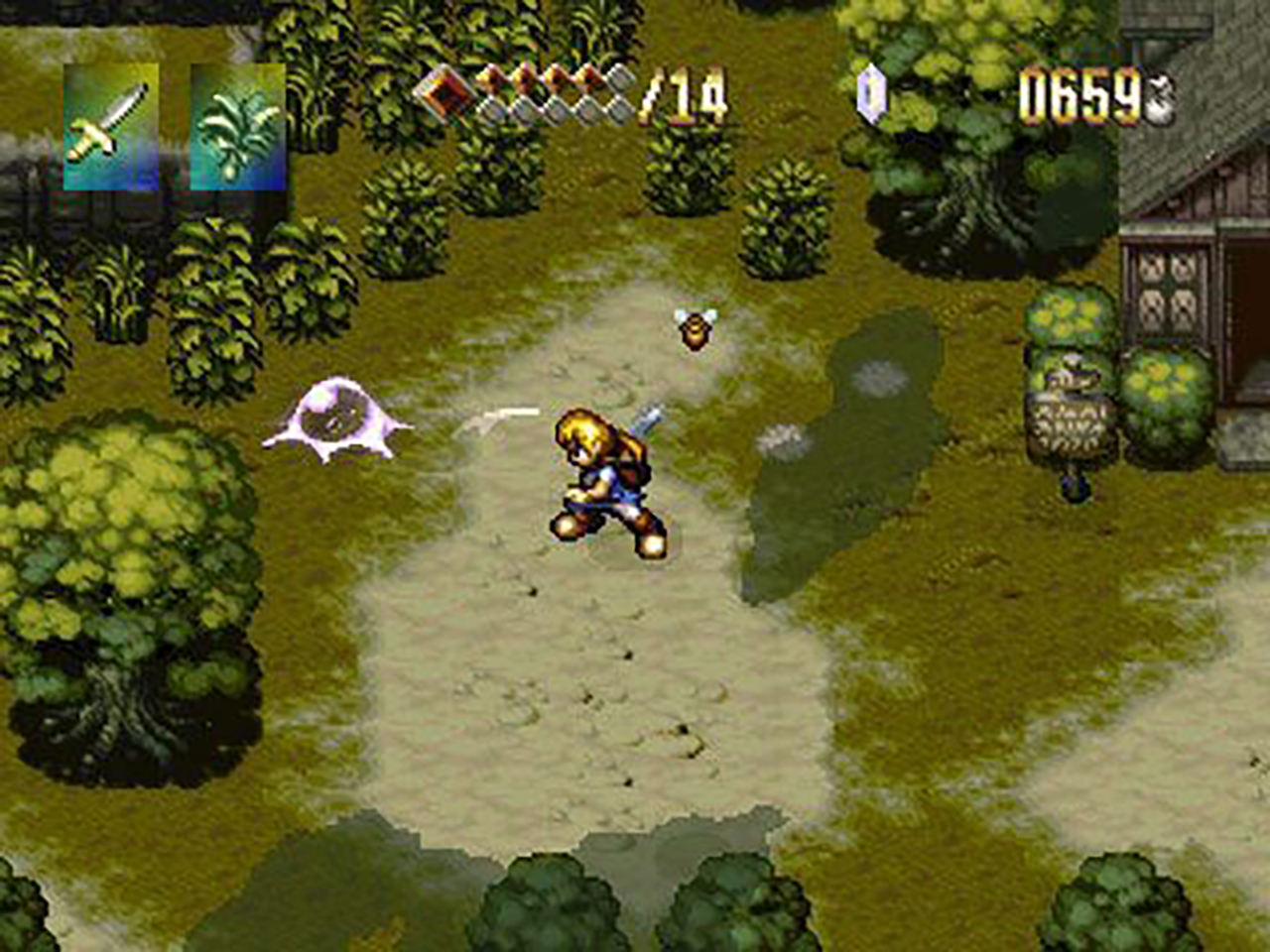 alundra 1 ps1 gameplay screenshot