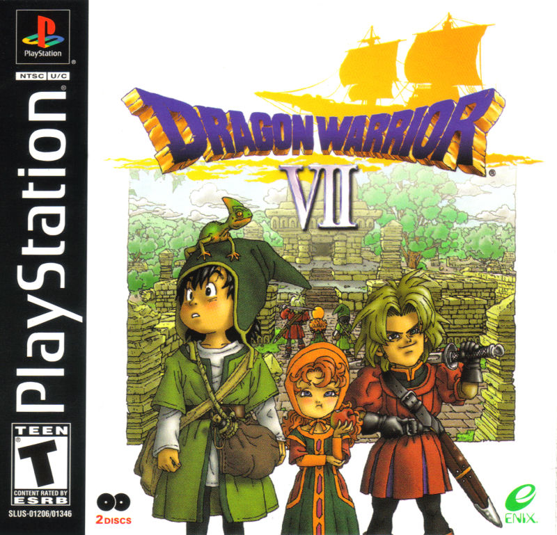 Dragon Warrior VII Cover