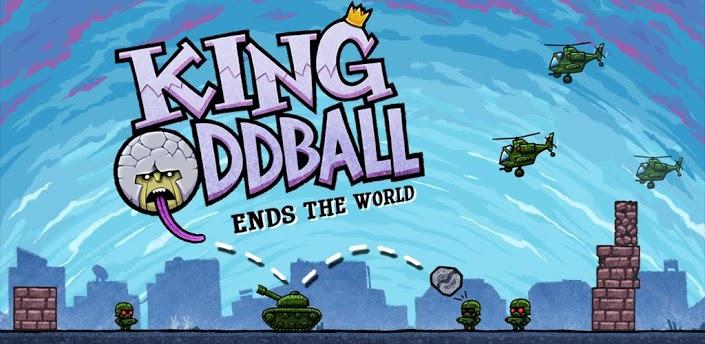 King Oddball Ends the World Logo