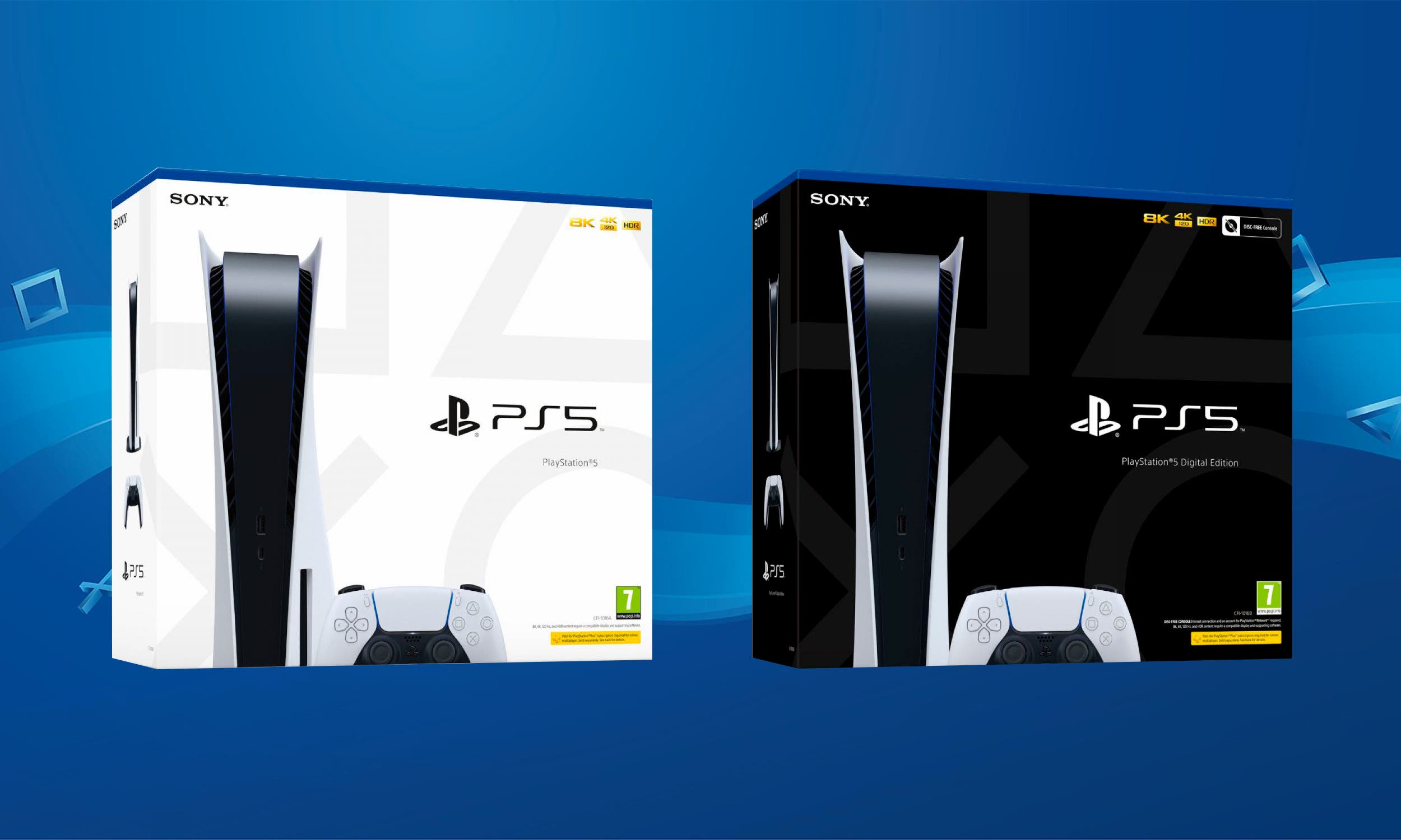 PlayStation 5 boxes