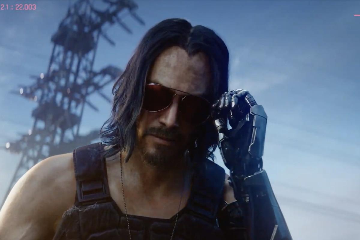 Keanu Cyberpunk 2077