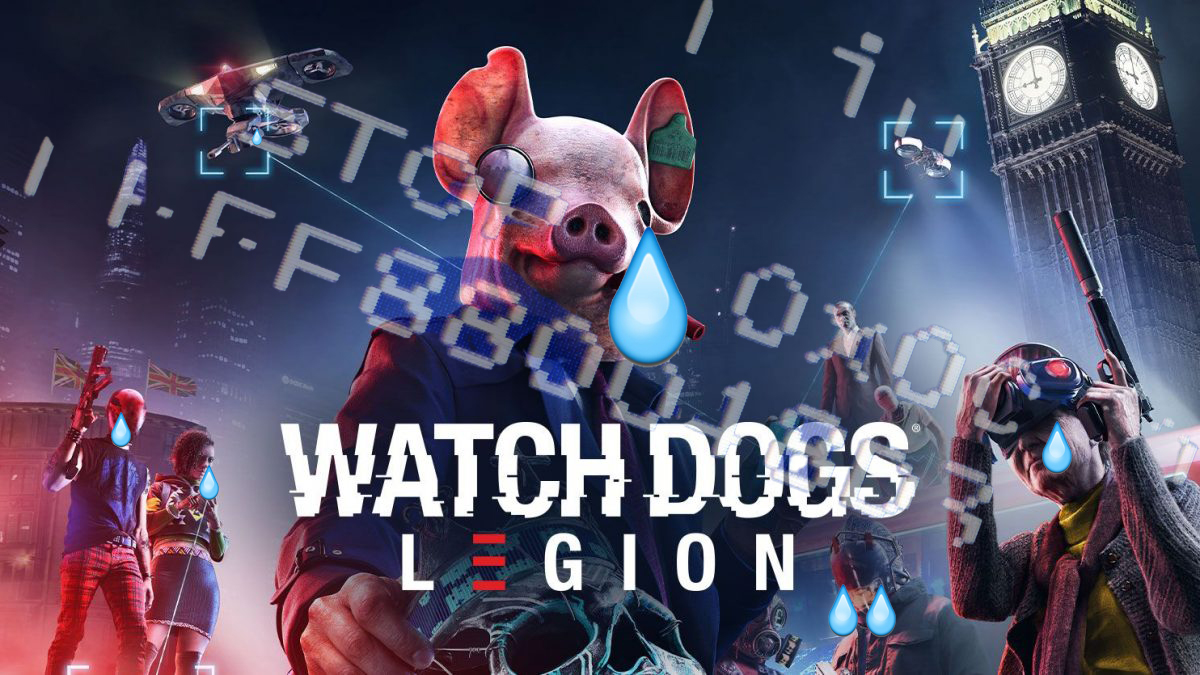 watch dogs legion cover photo buggy edit