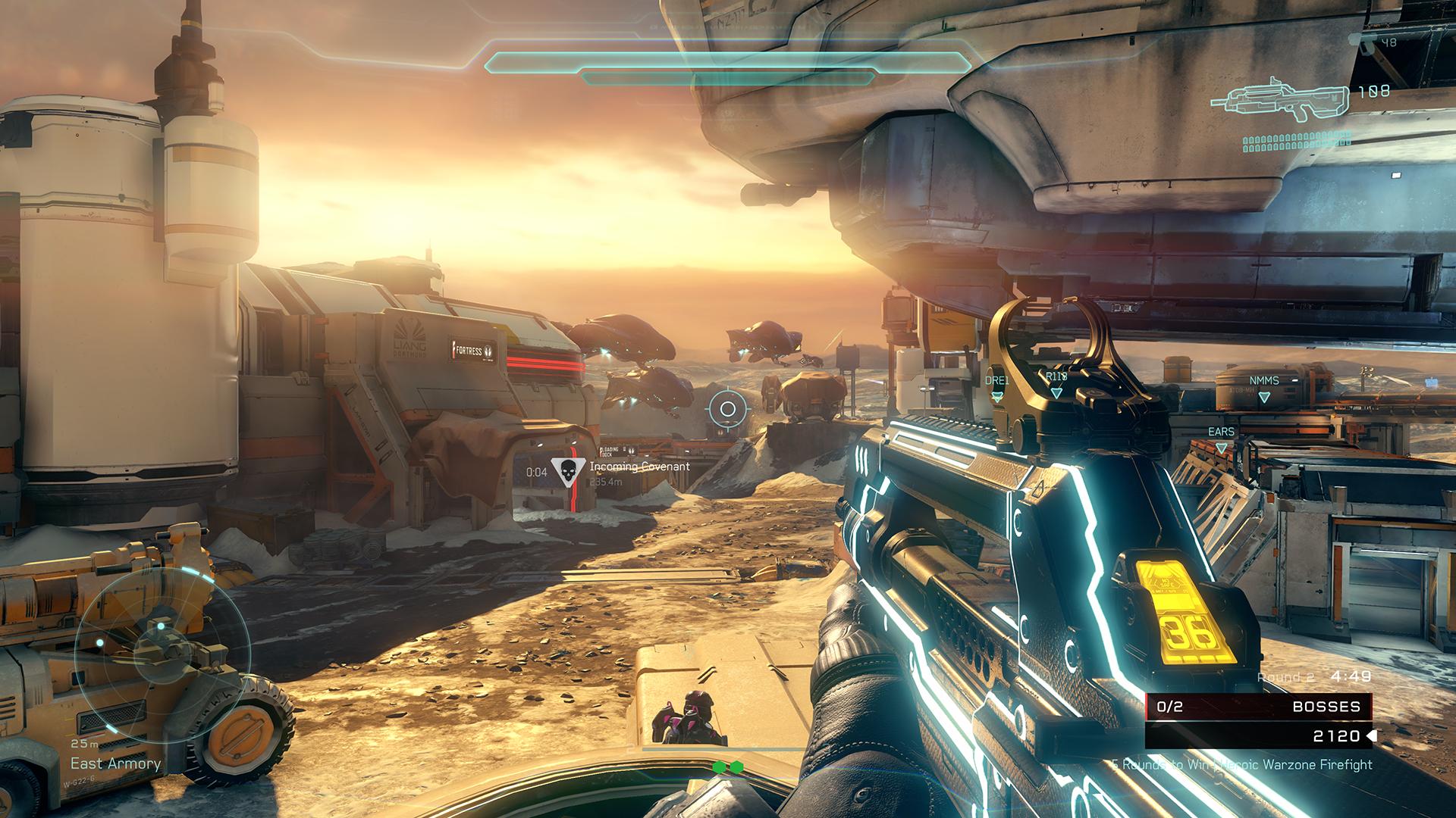 Halo 5: Guardians multiplayer vista screenshot