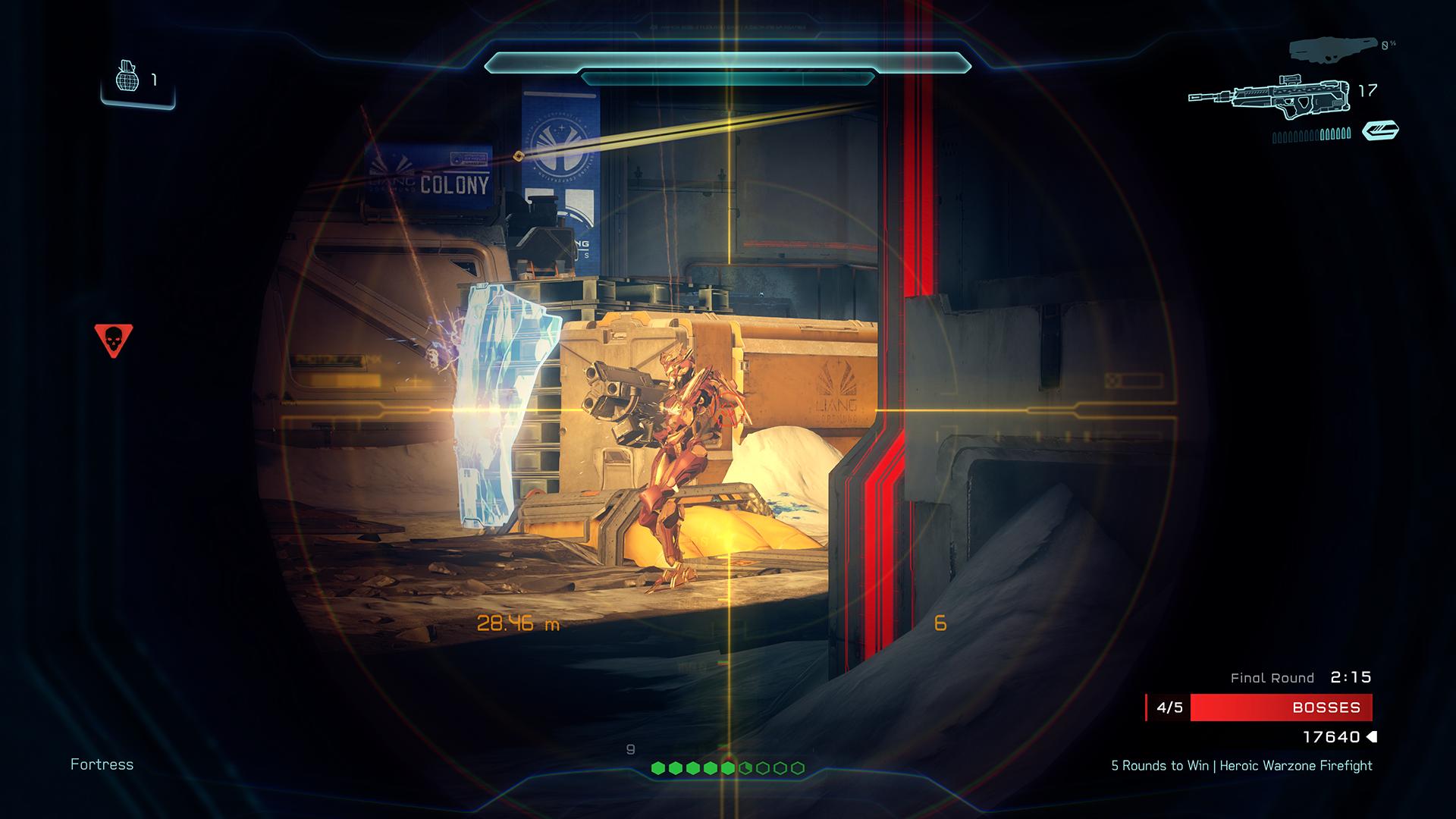 Halo 5: Guardians multiplayer boss screenshot
