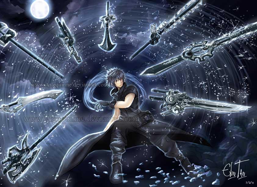 final fantasy xv fanart cover picture