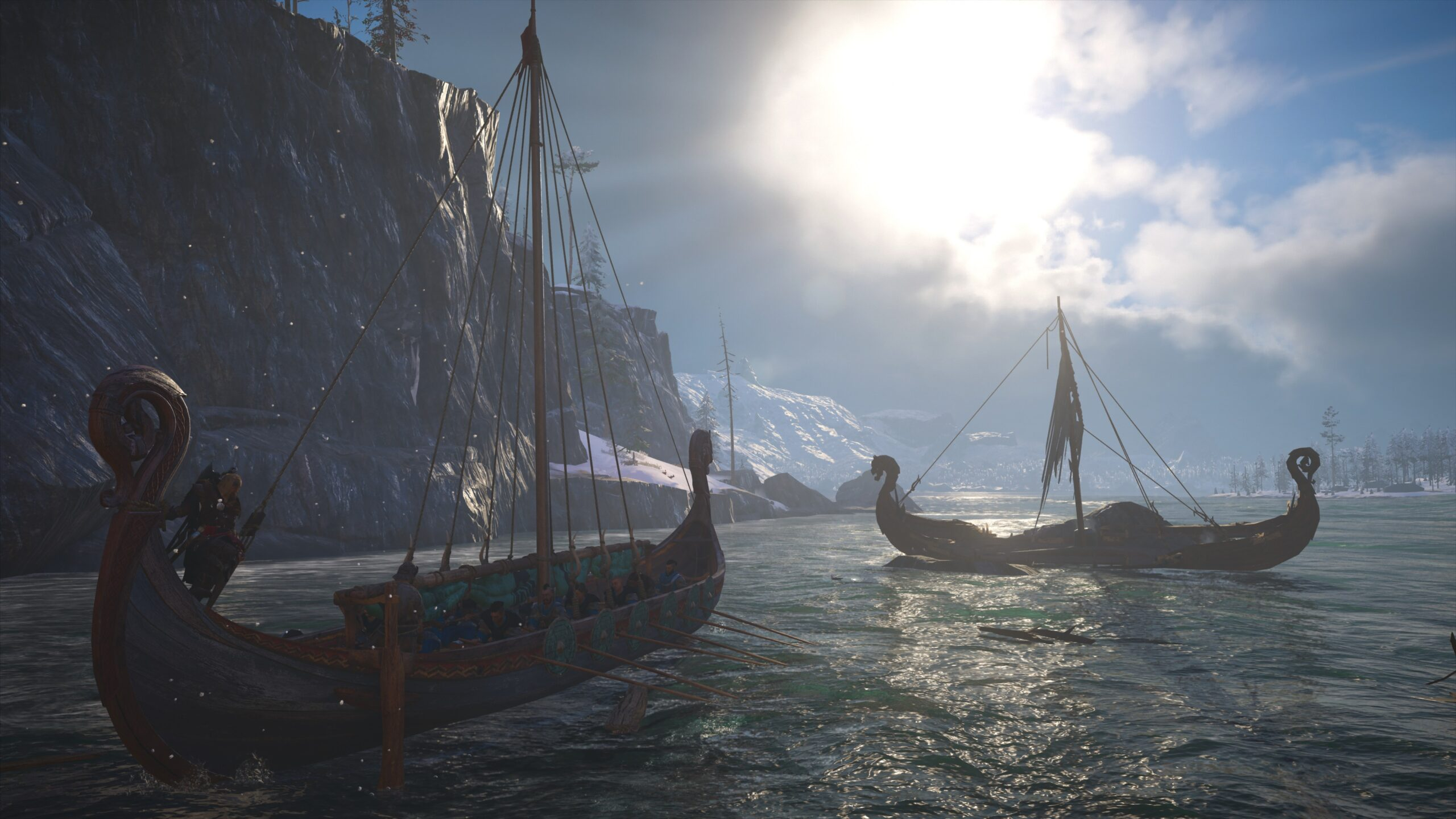 Long ship Valhalla