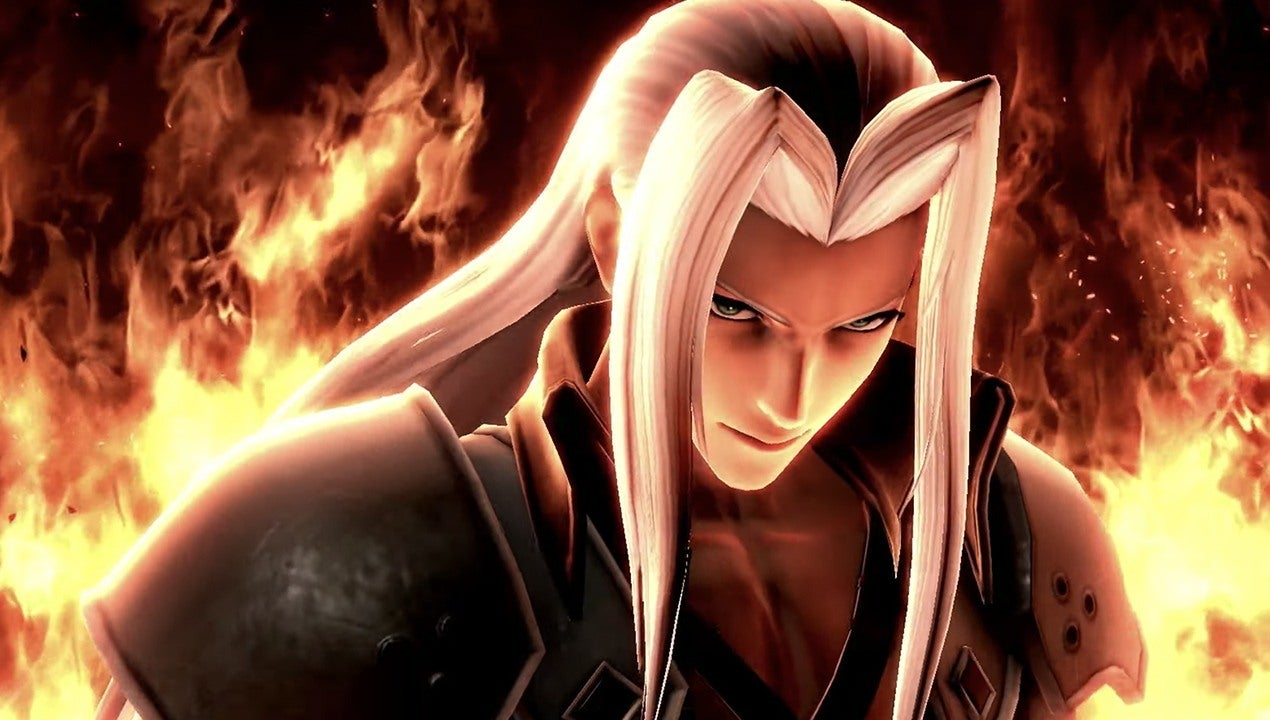 Sephiroth Smash Bros