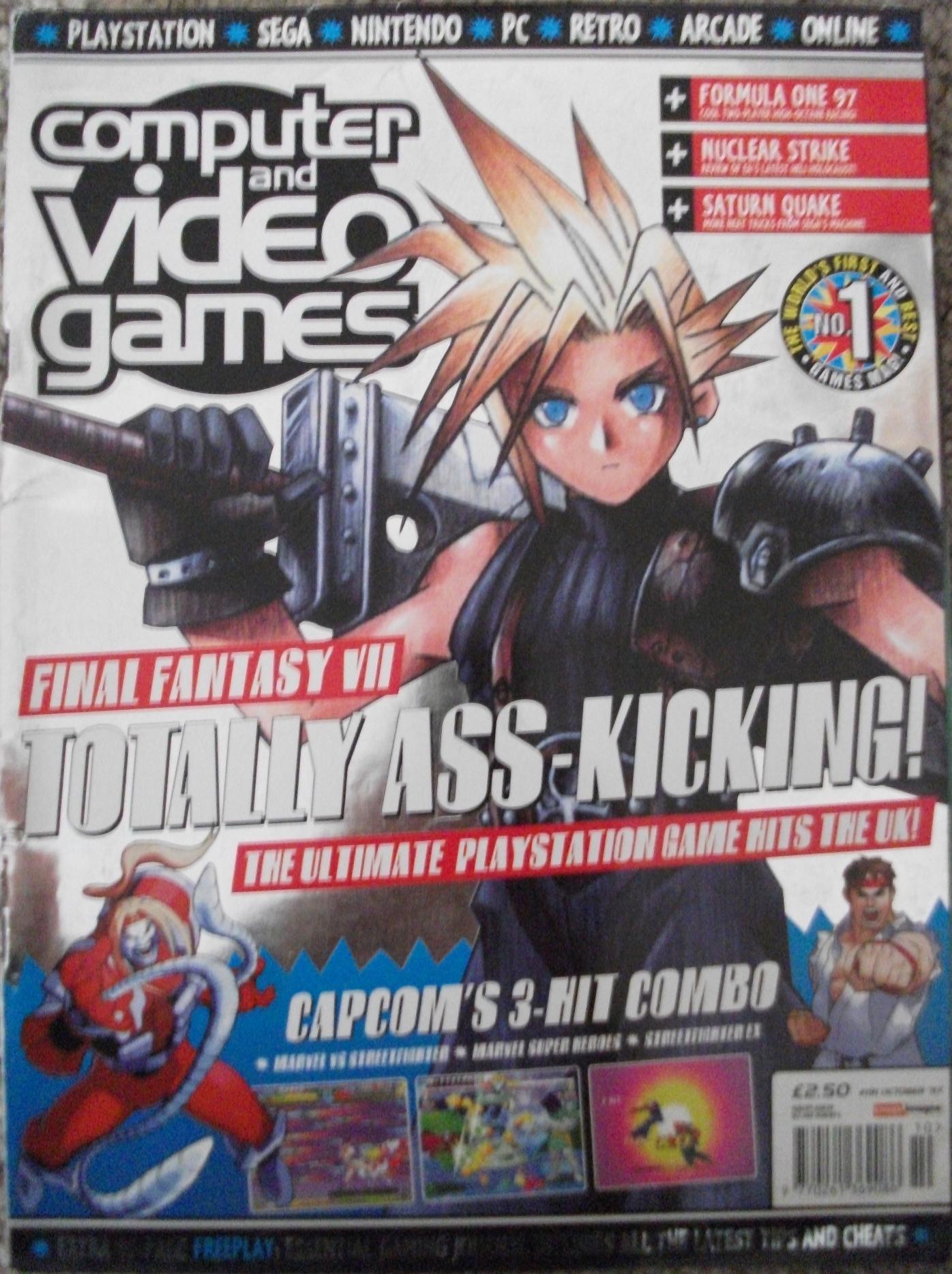 CVG Mag Cover FFVII